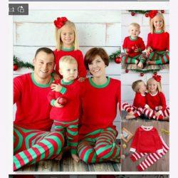 Weihnachten Schlafanzug Damen | Warmer Winter Pyjama