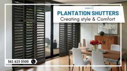 Enhance your Home Appearance with Plantation Shutters!