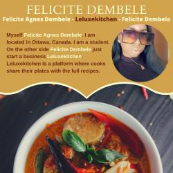 Felicite Agnes Dembele – Leluxekitchen – Felicite Dembele