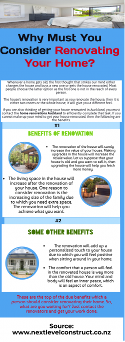 Important Benefits of Home renovation