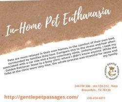 In-Home Pet Euthanasia – Gentle Pet Passages