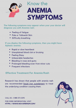 Things You Should Know About Anemia Symptoms