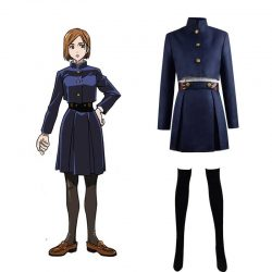 Jujutsu Kaisen Sorcery Fight Kugisaki Nobara Suit Outfit Cosplay Costume For Sale