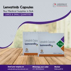 Generic Lenvatinib Bulk Supplier and Wholesaler
