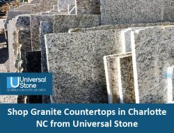 Shop Granite Countertops in Charlotte, NC from Universal Stone