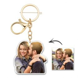 Custom Photo Keychain Your Photo Gift for Him