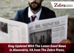 Stay Updated With The Latest Good News in Alexandria, VA from The Zebra Press
