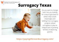 Surrogacy Texas – Paying It Forward Surrogacy