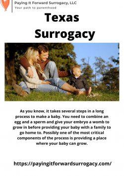 Texas Surrogacy – Paying IT Forward Surrogacy