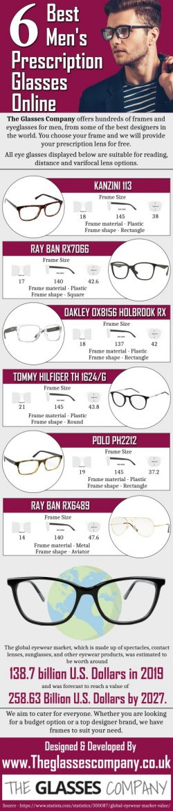 6 Best Men's Prescription Glasses Online