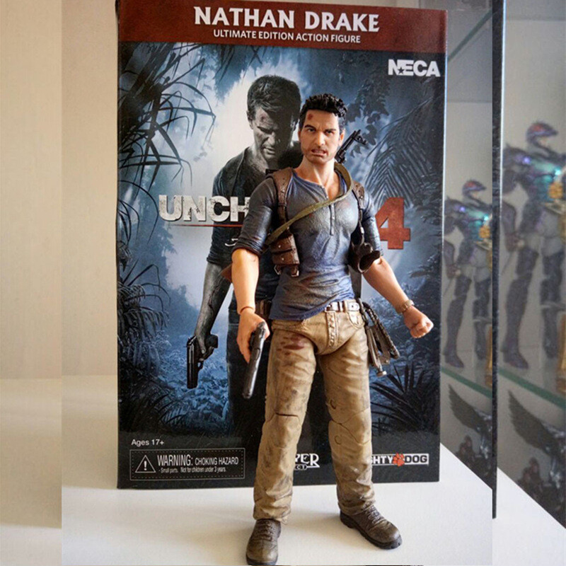 Uncharted Nathan Drake Action Figure
