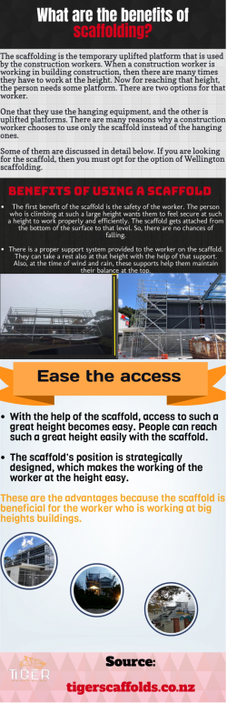 Important Information About Industrial scaffolding