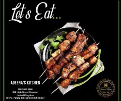 Adeena's Kitchen is a Restaurant and Takeaway in Croydon – 02036678566
