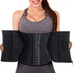 Women Latex Rubber Waist Trainer