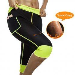 Weight Loss Hot Neoprene Sauna Sweat Pants with Side Pocket