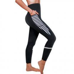 Women Fashion Design Sauna Weight Loss Sweat Pant