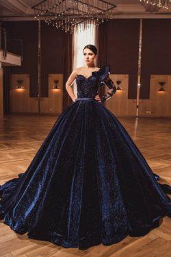 Prinzessin Abendkleider Mit armel | Abiballkleider Lang Glitzer