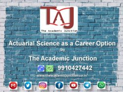 Actuarial Science as a Career Option