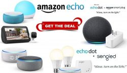 Amazon Echo Devices Discount & Deals