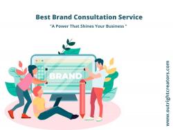 Get The Best Brand Consultation Service in Hyderabad
