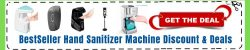 Redeem Hand Sanitize Machine Coupon code
