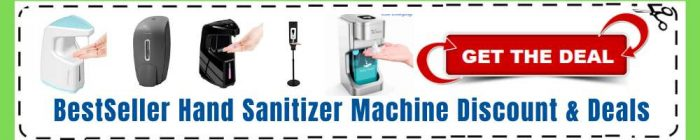 Redeem Hand Sanitize Machine Coupon code