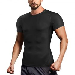 Men Workout Slimming Compression Shirt