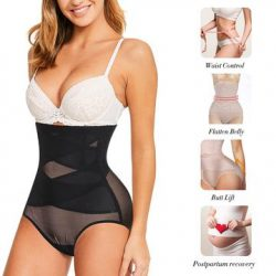 High-Waist Double Tummy Control Panty