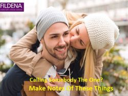 Calling Somebody The One? Make Notes Of These Things