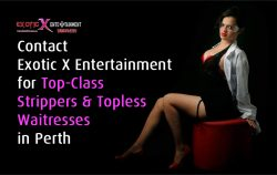 Contact Exotic X Entertainment for Top-Class Strippers & Topless Waitresses in Perth