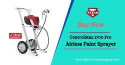 ControlMax 1700 Pro Airless Sprayer