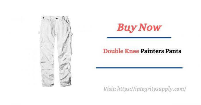 Dickies Natural Double Knee Painters Pants