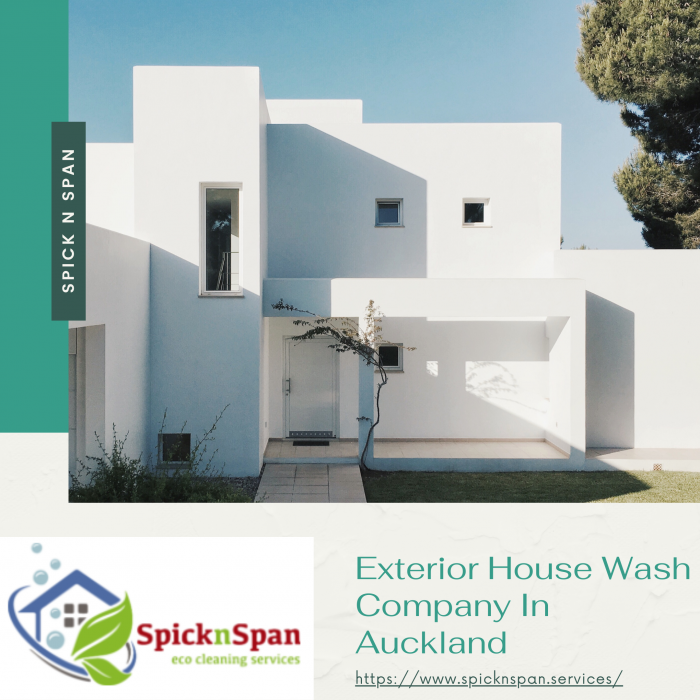 Exterior House Wash Company In Auckland