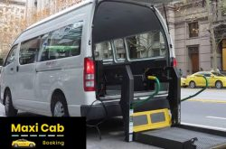 Get Wheelchair Maxi Cab Services from Maxi Cab Booking Melbourne