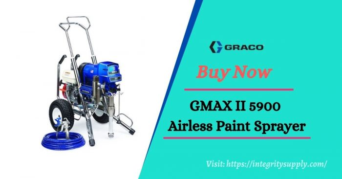 Graco GMAX II 5900 Convertible Standard Series Gas Airless Sprayer