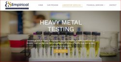 Heavy metal testing laboratories