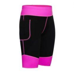 Hot Neoprene Sauna Sweat Pants with Side Pocket Workout Thighs Slimmin – Nebility