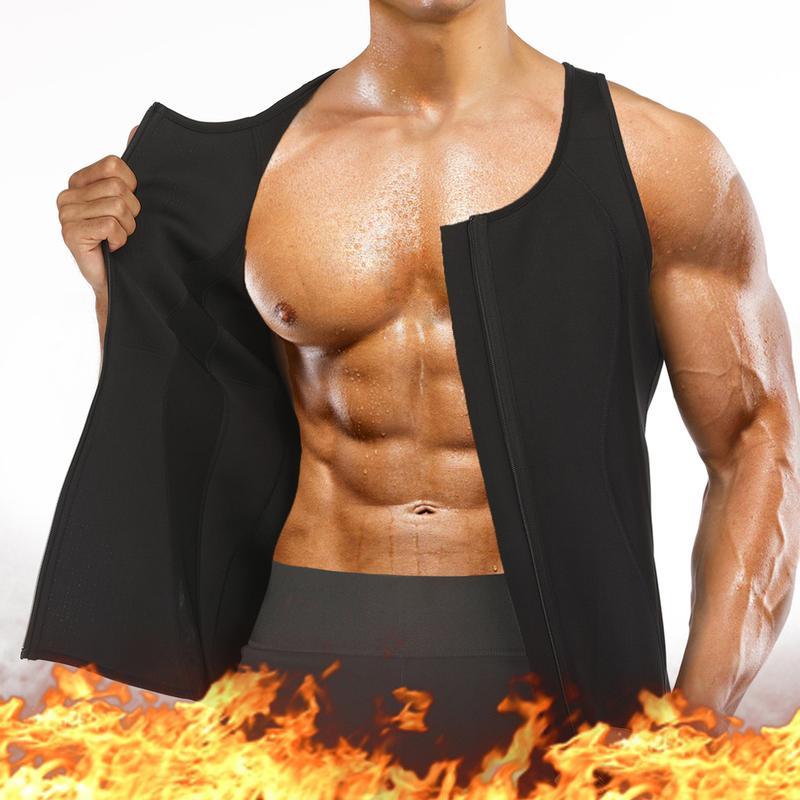 Hot Sauna Closure Zipper Vest – BRABIC