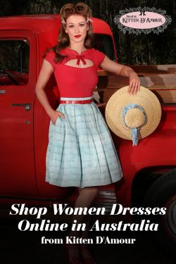 Shop Women Dresses Online in Australia from Kitten D'Amour