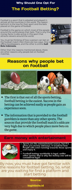 Why Football Betting Is Popular