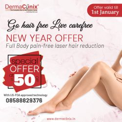 Go Hair Free Live CareFree – New Year Offer