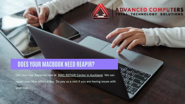 Apple MacBook Repair Auckland