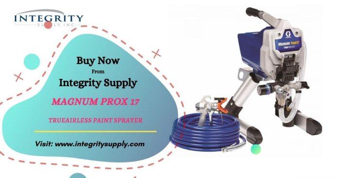 Magnum ProX17 Electric TrueAirless Paint Sprayer, Stand
