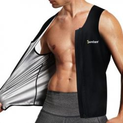 Junlan Thermal-Cycle Zipper Sweat Shaper Vest