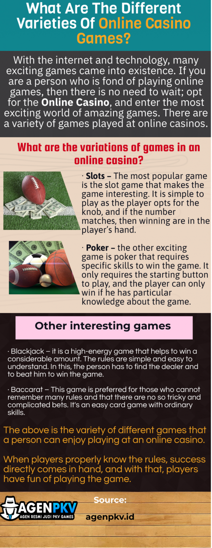 Online Casino-Popular With Different Games