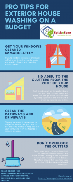 Pro Tips for Exterior House Washing on a Budget