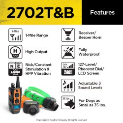 2702T&B TRAINING AND BEEPER   DOGTRA