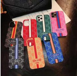 セリーヌ iphone12 pro maxケース airpods proカバーCeline ハイブランド