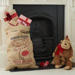 Rudolph Christmas Sack