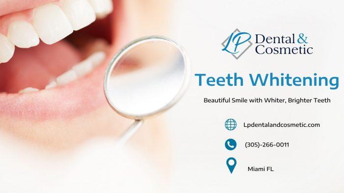 Safely Bleaches the Teeth with Dr. Liana Puig